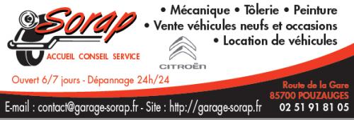 logo Garage Sorap